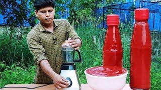 ടൊമാറ്റോ സോസ് വീട്ടിൽ തന്നെ ഉണ്ടാക്കാം!!! How To Make Tomato Sauce At Home