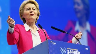 Watch live: Ursula von der Leyen addresses EU parliament ahead of commission vote