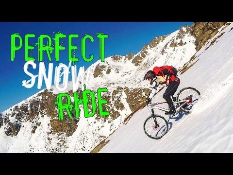 PERFECT SNOW RIDE - VTT freeride extrême, enduro - Ariège, Pyrénées, Etang d'Appy