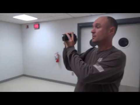 Older Otis Hydraulic Elevator - Augusta Health Hospital - Fishersville, VA