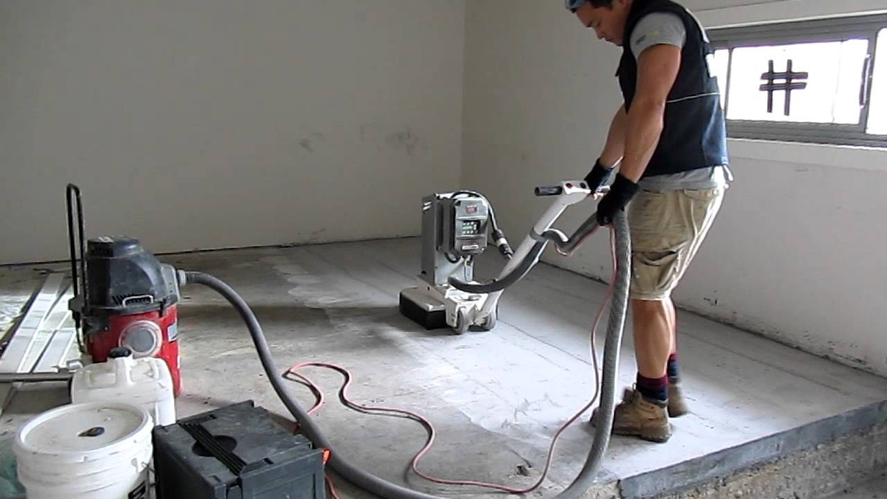 Werkmaster Concrete Grinding   YouTube