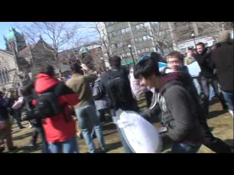 Copley Square Pillow Fight 2008