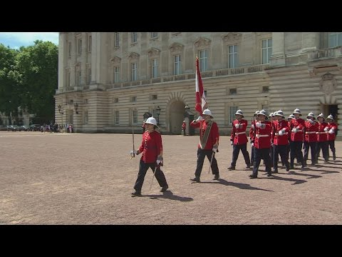 First female Captain of the Queen's Guard