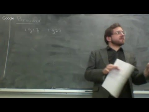 Intuitionism and Constructive Mathematics 1/19