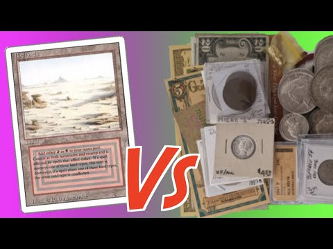 Why I Traded $1k in Gold & Silver Coins for 4 Magic the Gathering Cards