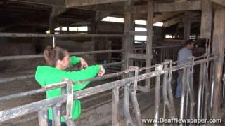 Deaf Farmers in Wisconsin