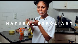 vuclip London Zhiloh - Natural Exfoliant Tutorial