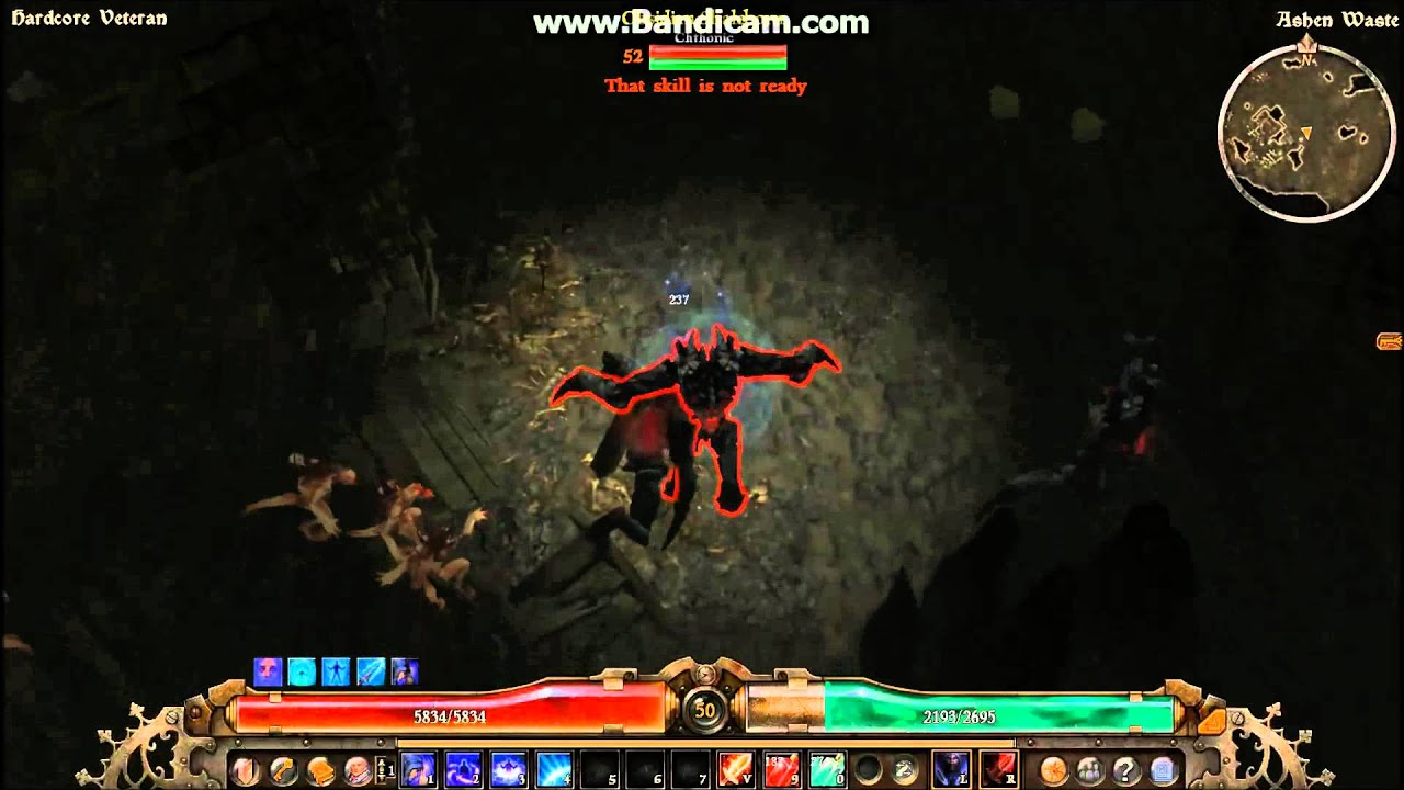 grim dawn how to get out of ashen waste