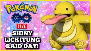 🚨 Live  🚨 SHiNY LiCKiTUNG RAiD DAY 👅 EVENT ✨  POKEMON GO!