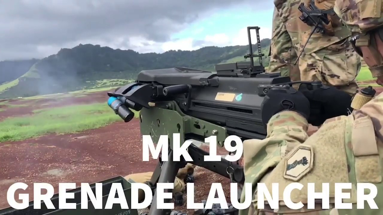 U.S. Army Reserve Soldiers are getting some hands-on training with the Mk 19 grenade launcher at Pacific Steel.   Check out the U.S. Army Reserve Instagram for a behind-the-scenes look at their training: https://bit.ly/2qVL0ad