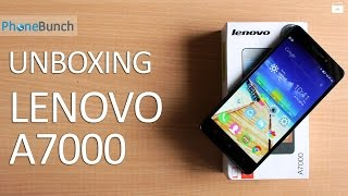 Lenovo A7000 - Unboxing & Quick Review | PhoneBunch