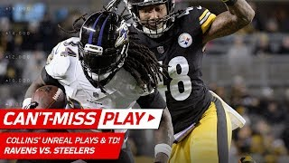 Two Unbelievable Plays by Alex Collins on this TD Drive! | Can't-Miss Play | NFL Wk 14