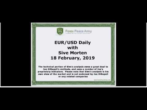 ForexPeaceArmy   Sive Morten Daily, EUR/USD 02.18.2019