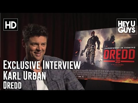 Karl Urban Exclusive Interview - Dredd