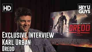 Karl Urban - Dredd Exclusive Interview