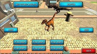 Dinosaur Simulator 2 Dino City | Android Gameplay #16