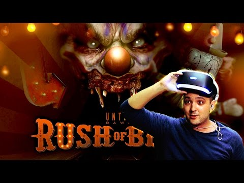 Pasando MIEDO en Until Dawn Rush of Blood