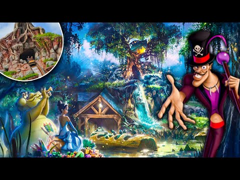 Splash Mountain Officially Being Replaced By Princess And The Frog