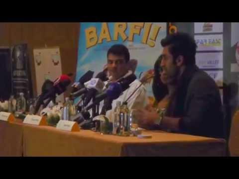 Barfi! | Ranbir Kapoor answers Press Questions | Dubai