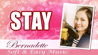 Stay (With Me) - Cover by Bernadette, with Lyrics