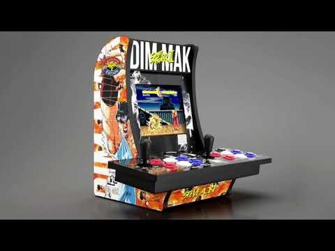 Arcade1Up Dim Mak Street Fighter Steve Aoki Calibration Arcade 1Up from rarecoolitems