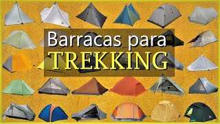 Tipos de Barraca de Trekking e Cicloturismo - Ultraleves (Ultralight)