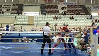 Begüm KARLI-Türkiye Kick Boks Şampiyonası Low Kick Final(Kırmızı Köşe)