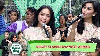 Gambar cover Nagita Slavina ft Nisya Ahmad [LEBARAN SEBENTAR LAGI] - Rumah Mama Amy (14/6)