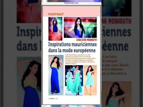 Shaleena Nowbuth | Press Coverage London Mauritius | Exclusive