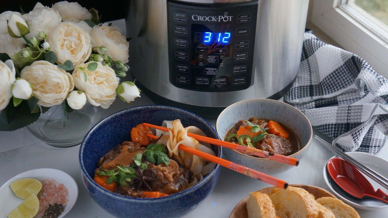 Jn Cooking Channel Bo Kho Ft Crock.Pot Express Crock