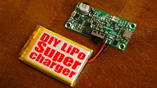 DIY LiPo Supercharger! (Charge, Protect, 5V/12V Boost V2)
