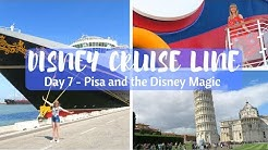 DISNEY CRUISE LINE VLOGS | Day 7 | Pisa and fun on the Disney Magic