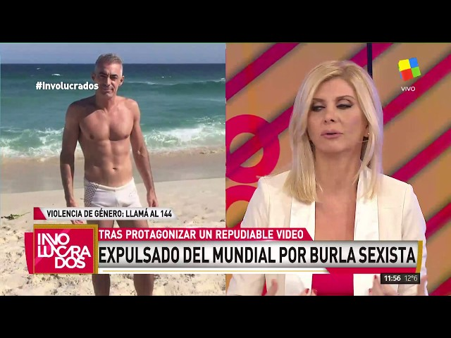 Expulsaron del Mundial al hincha argentino que protagonizó un repudiable video sexista