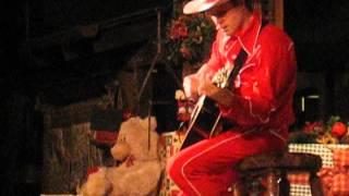 """blue Christmas"" By Tex Tumbleweed @ Big Thunder Ranch Bbq 12/05/12"