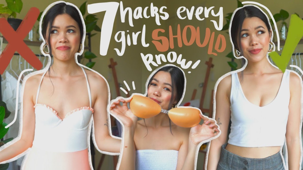 7 small boob HACKS EVERY GIRL NEEDS TO KNOW