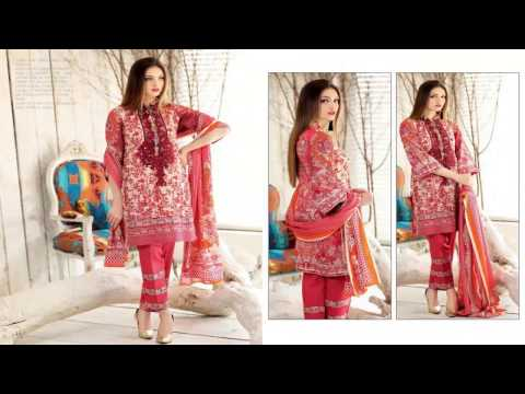 Subhata Embroidered Lawn S/S Collection 2017 by Shariq Textiles