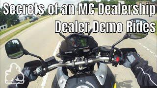 Dealer Demo Rides - Secrets of a Motorcycle Dealership