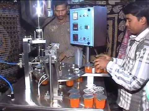 Automatic Cup Filling Machine (AMAN ENGINEERING WORKS)