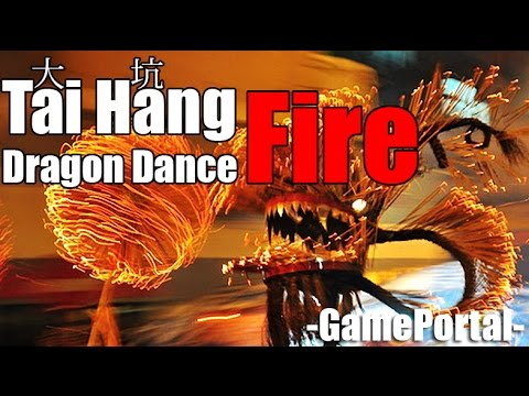Tai Hang Fire Dragon Dance Hong Kong (Legendado)