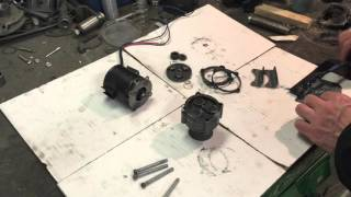 Понижающий 4-х ступенчатый планетарный редуктор(Для тихоходного привода нужны маленькие обороты. Взяли моторчик от вентилятора отопится ВАЗ 2103 на 12 Вольт...., 2016-02-12T20:00:49.000Z)