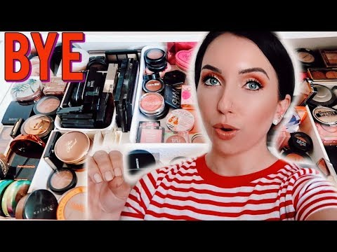 Getting Rid of HALF my Collection...HUGE BRONZER, BLUSH, HIGHLIGHT DECLUTTER! thumbnail