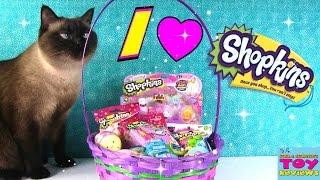 Shopkins Goodie Palooza Surprise Easter Basket | Food Fair Hangers Opening | PSToyReviews