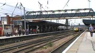 trains and tones at doncaster station line side psb crossing 30/7/09 part 2 of 2