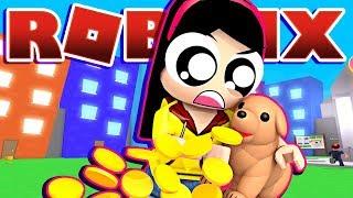 Mon chiot m'apporte de l'argent?!?!! - Roblox Pet Simulator - DOLLASTIC PLAYS!