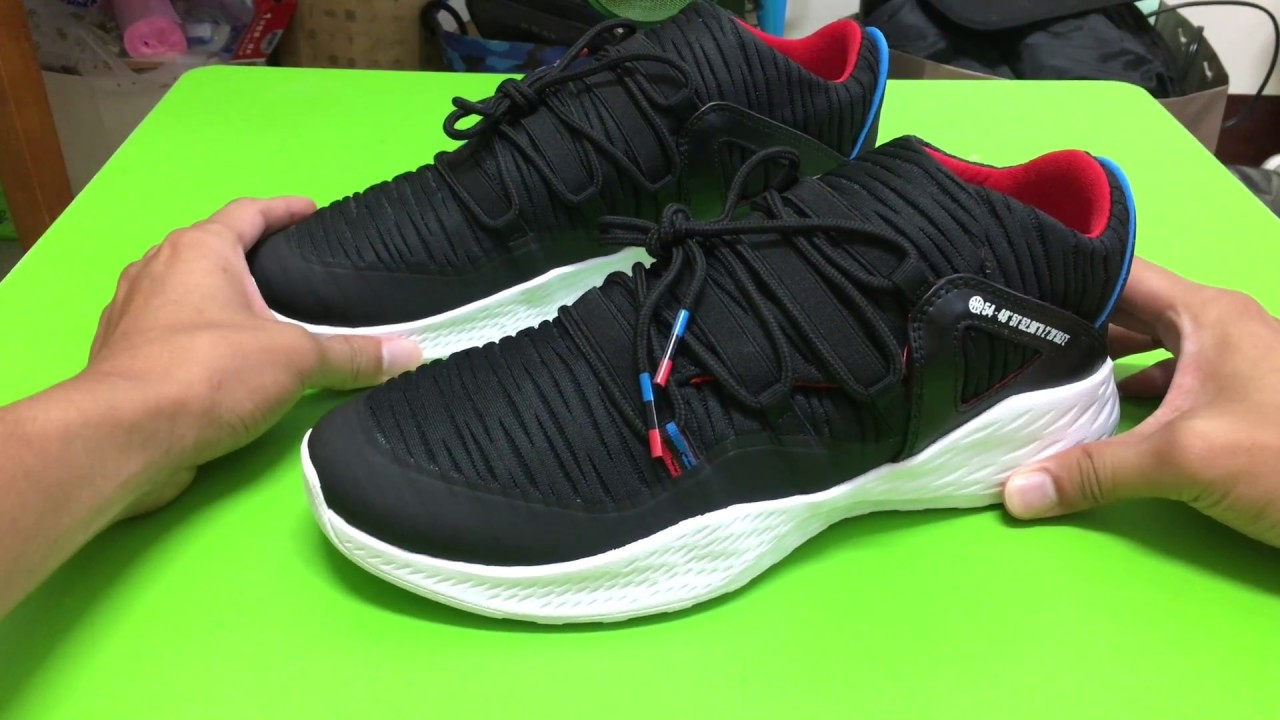 ed7332621d90 開箱鞋評  Air Jordan 23 formula Q54 UNBOXING - YouTube