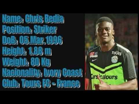 Chris Bedia - Goals