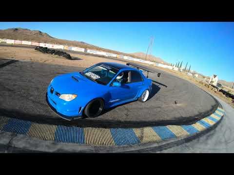 Subie WRX STI RWD Drift @Apple Valley Speedway