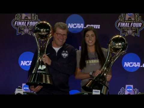 Associated Press Coach & Player of the Year News Conference