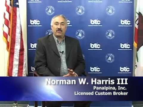 Norman Harris, LCB, CCS, Panalpina