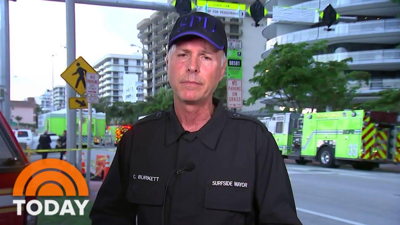 Miami condo partially collapses overnight